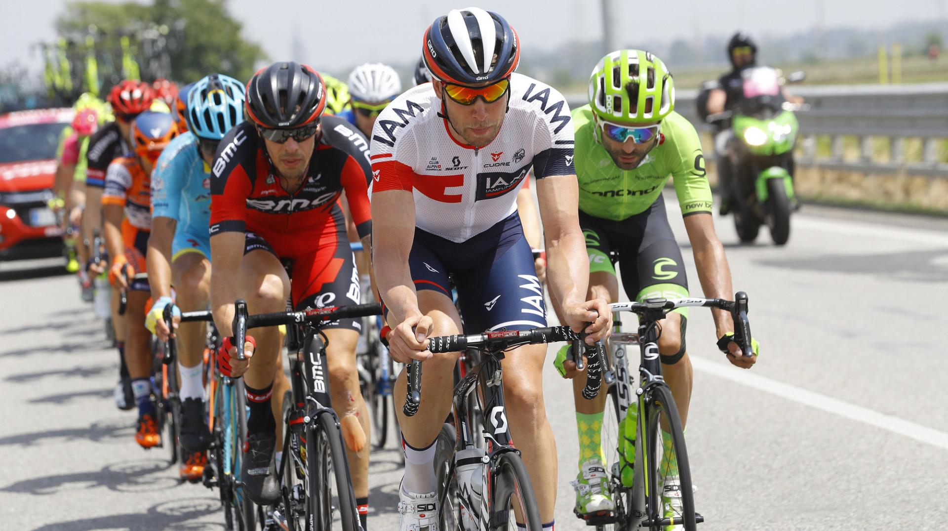 Giro tappa 18 – Un podium de plus pour IAM Cycling