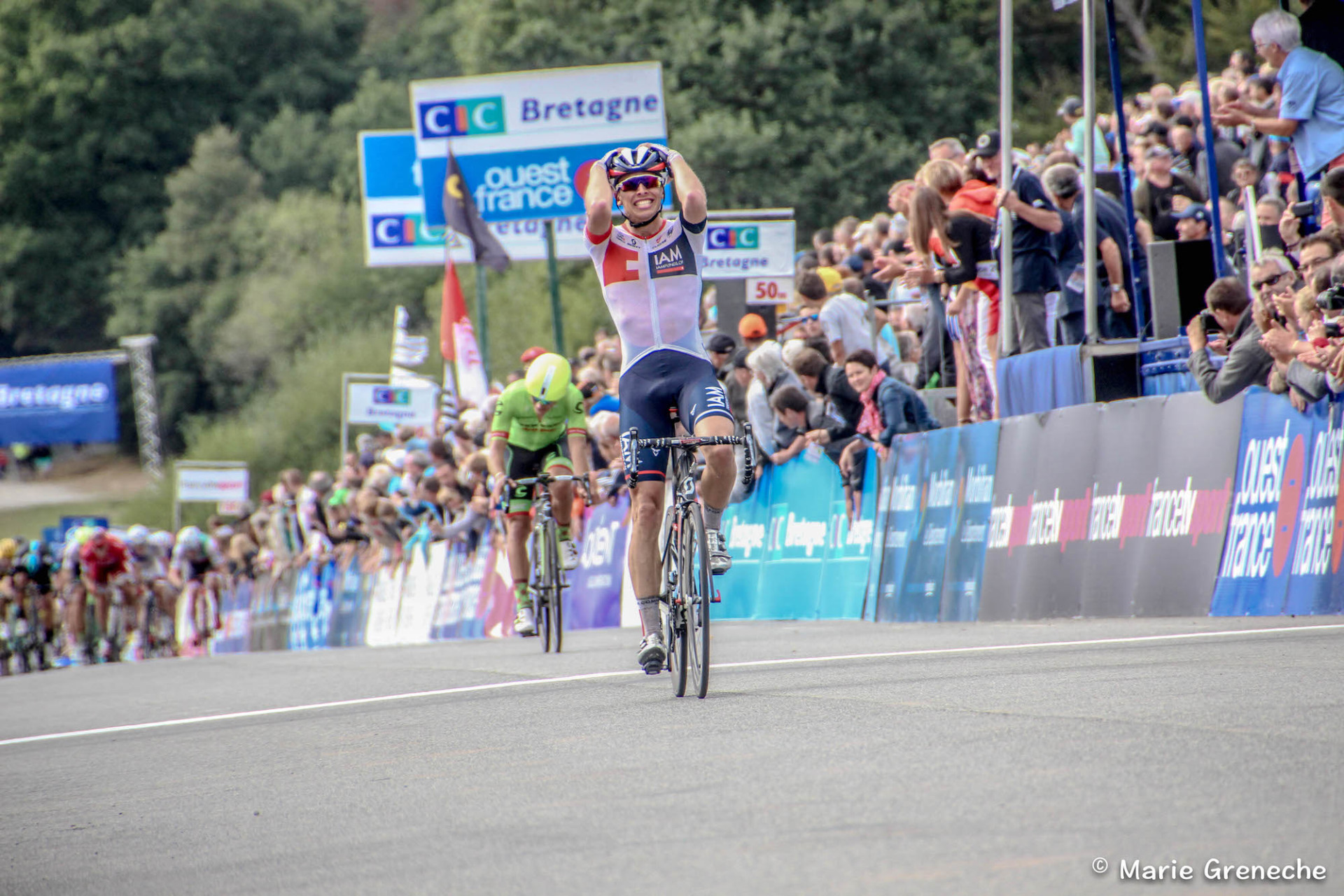 """Bretagne Classic Ouest France – Oliver Naesen: """"The most beautiful win of my career"""""""