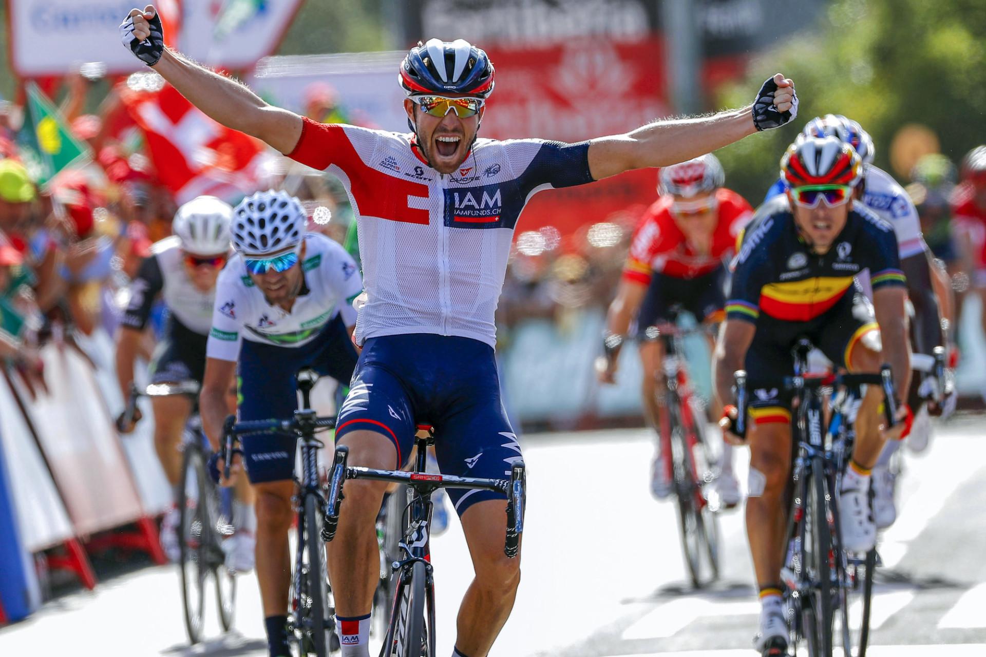 La Vuelta – Jonas Van Genechten: «C'est plus que génial car je ne pensais pas pouvoir gagner ici»