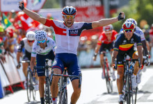 Vuelta Spagna 2016 - 7a tappa Maceda - Puebla de Sanabria 158.5 km - 26/08/2016 - Jonas Van Genechten (IAM Cycling) - foto Luis Angel Gomez/BettiniPhoto©2016