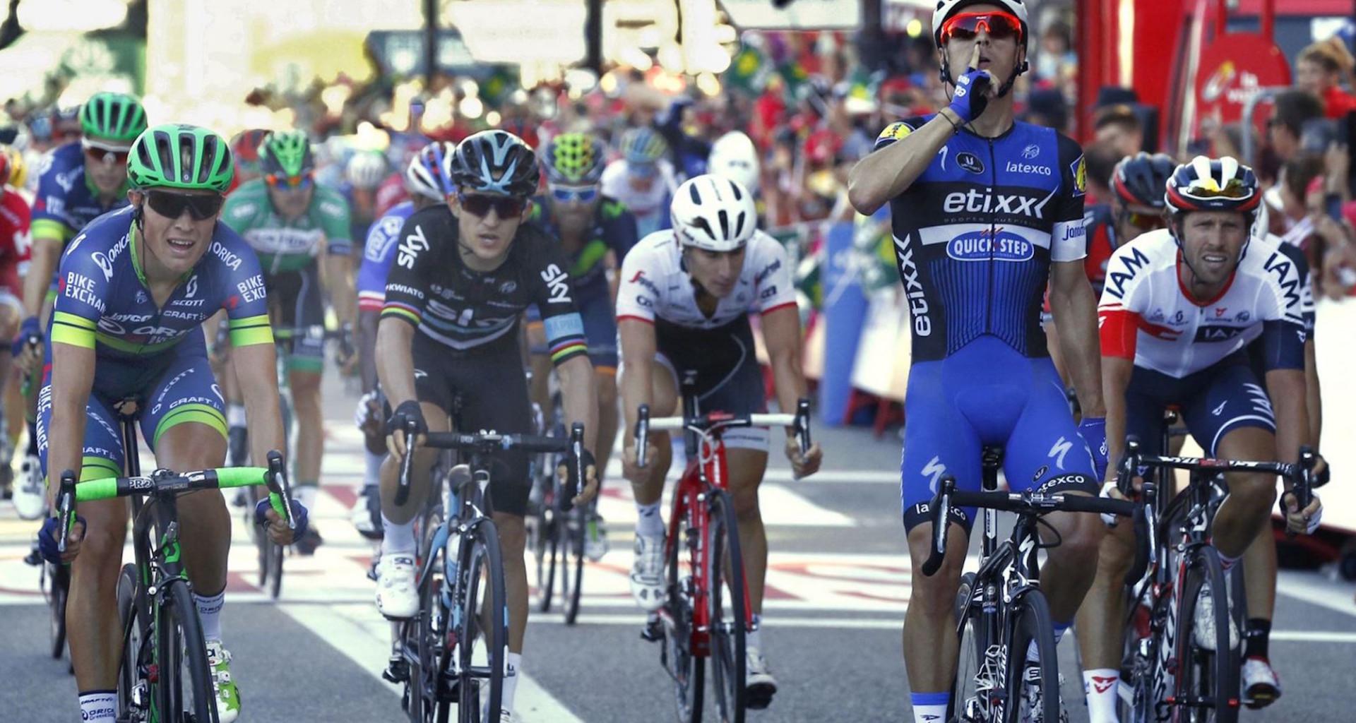 La Vuelta, étape 2 – Jonas Van Genechten «Je suis un peu déçu car j'attendais mieux qu'une 5e place»